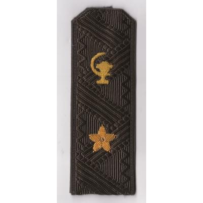 Погоны Медицинская служба МО генерал-майор повседневные на зеленую рубашку