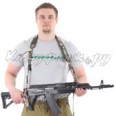 Оружейный ремень KE одно/двух точечный multicam со стропами multicam