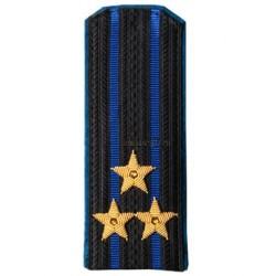 Погоны ФСБ-ФСО нового образца Полковник вышитые повседневные