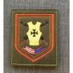 Нашивка на рукав с липучкой 71-й гвардейский мотострелковый полк вышивка шелк