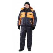 Костюм мужской Стим-Ямал зимний темно-синий с оранжевым