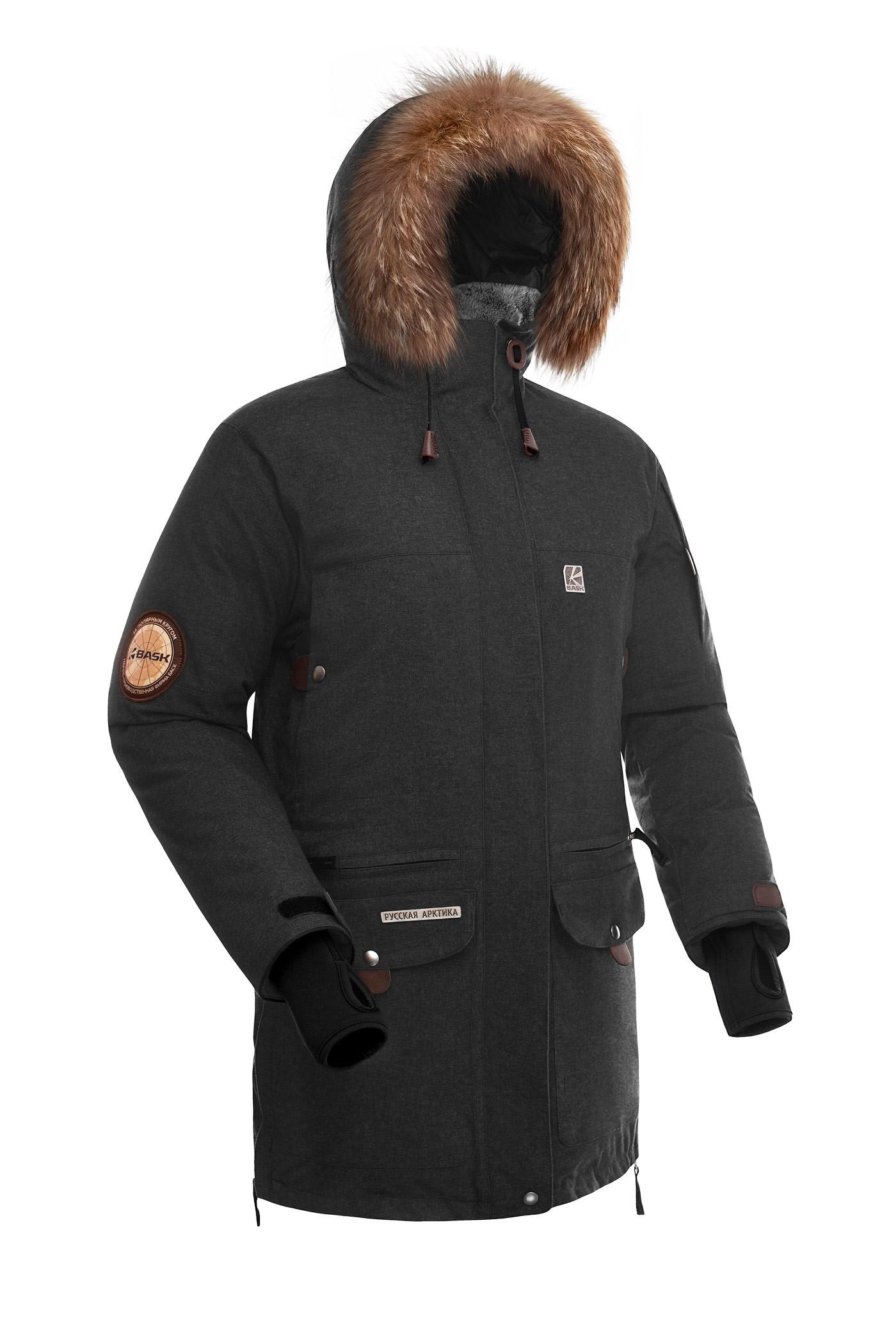 99b46f870d5 Куртка пуховая BASK IREMEL SOFT черная