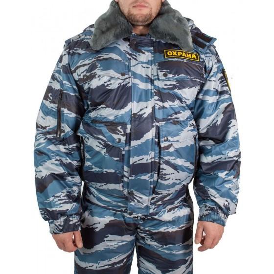 Куртка зимняя СВЯТОГОР, камуфляж с/г камыш (оксфорд, файбертек)