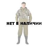 Костюм противоэнцефалитный ХАКИ/ПИТОН ЗЕЛЁНЫЙ (палатка/грета)