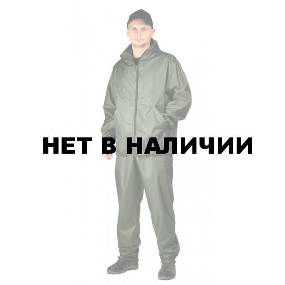 Костюм МАСКХАЛАТ-ЛИВЕНЬ куртка/брюки, цвет: Хаки, ткань : Таффета рип-стоп