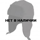 Шапочка Siberia черная/черный флис