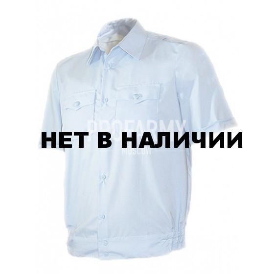 Сорочка голубая короткий рукав