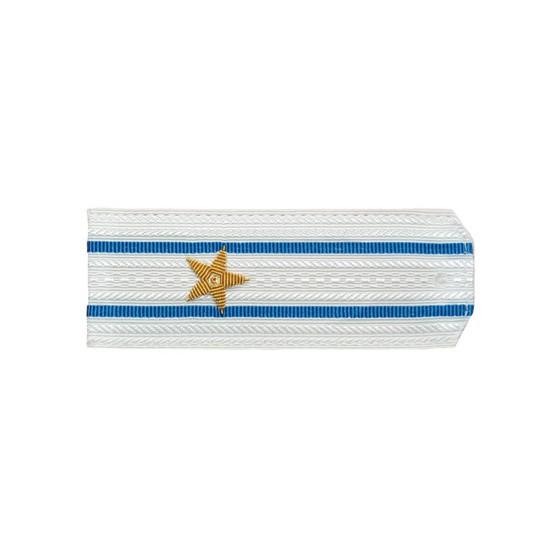 Погоны ВКС-ВВС-ВДВ вышитые Майор парадные на белую рубашку