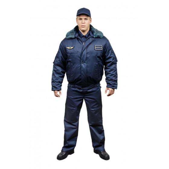 Куртка полетная Бомбер Ф-74 синий