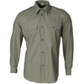 Рубашка R05 серо-бежевая