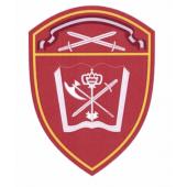 Шеврон Росгвардия Северо-Западный округ Учебные в/ч люрекс