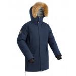 Куртка пуховая мужская VORGOL темно-синяя