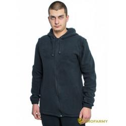 Куртка флисовая TERRA черная
