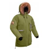 Мужская пуховая куртка парка Баск YAMAL хаки светлый