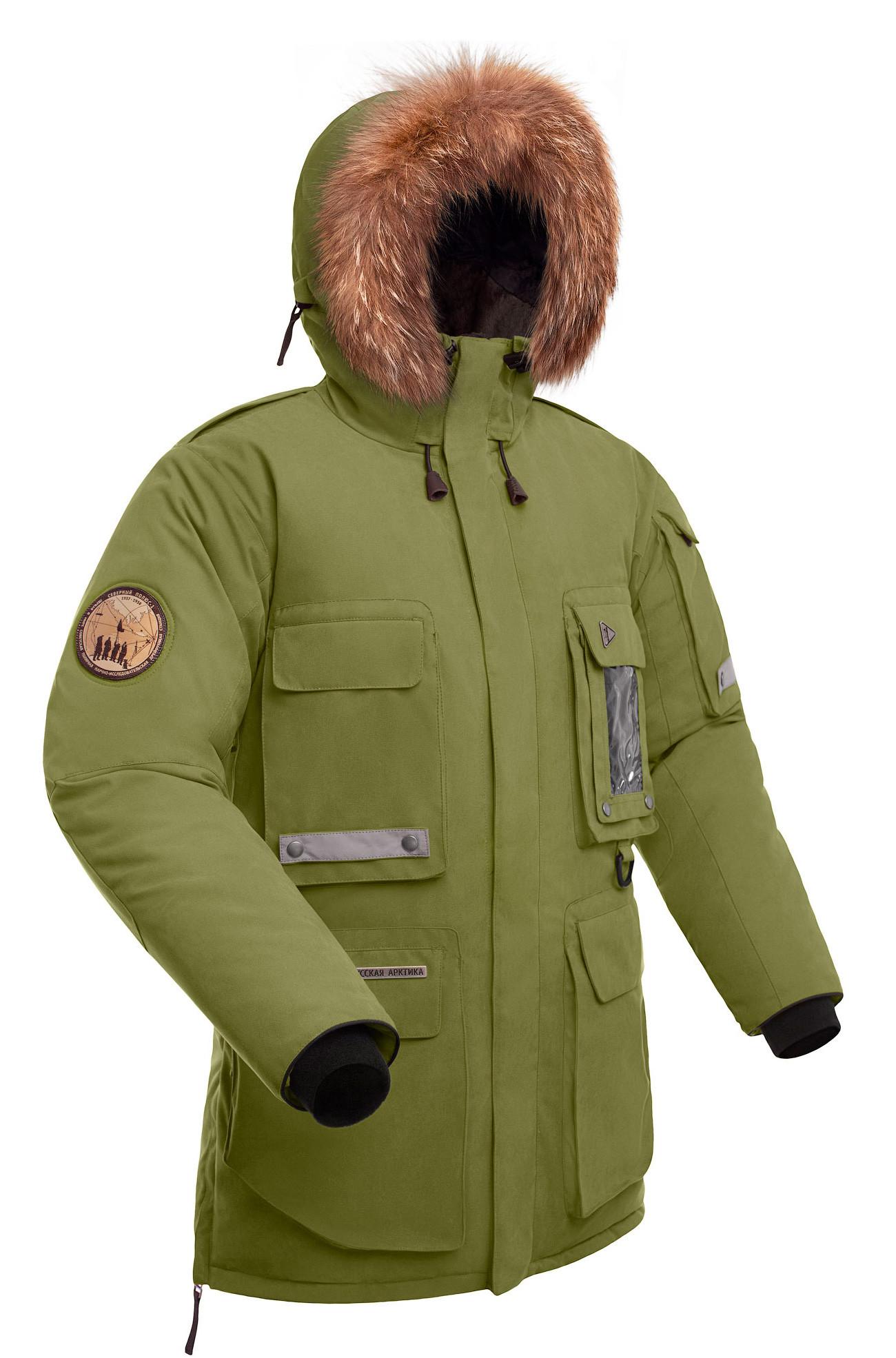 faf92a5e9d15 Мужская пуховая куртка парка Баск YAMAL хаки светлый, производитель ...