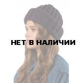 Шапка полушерстяная marhatter женская MWH 8675 черника 015