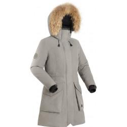 Пальто пуховое женское BASK VISHER светло-серое