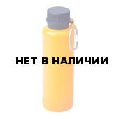 Складная силиконовая бутылка 550 мл. Оранжевый, 1543