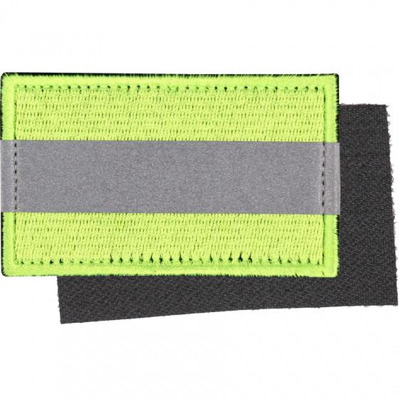 Нашивка на рукав с липучкой Свой Чужой светоотражающая вышивка шелк