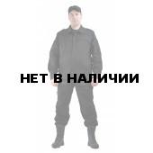 """Костюм мужской """"Спецназ"""" рип-стоп черный"""