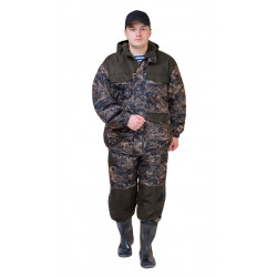Костюм демисезонный БАРС-ВЕСНА/ОСЕНЬ куртка/брюки, цвет:, камуфляж Харвест/т.хаки, тк: Алова/Канада