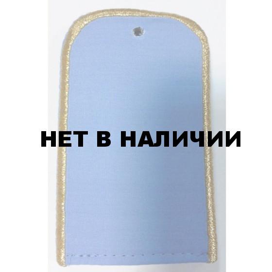 Погоны РЖД чистые голубые