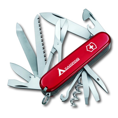 Нож перочинный Victorinox Ranger (1.3763) 91мм 21функций красный