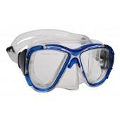 Маска для плавания WAVE M-1311 ПВХ, синяя