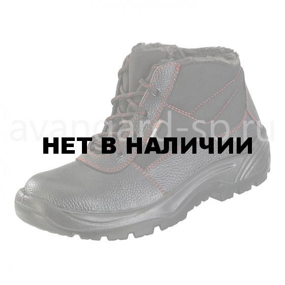 Ботинки Легион, искусственный мех, red ПУ (003)