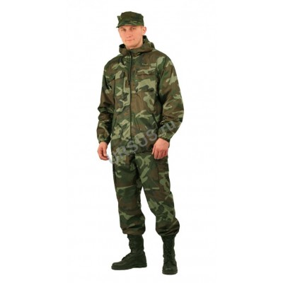 0f185cb8fe3a5 Костюм мужской Турист 1 летний, камуфляж тк Грета НАТО недорого - 1 ...