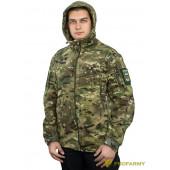Куртка флисовая SHERPA PF3-12 мультикам
