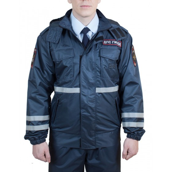Куртка-ветровка ДПС, ткань Твил