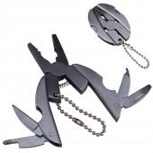 Брелок Мультитул Эллипс Stainless Steel Multi-Tool Ellipse (пассатижи, нож, напильник, отвертка плоская и крестовая, шило) (упаковка 5 шт), 2568