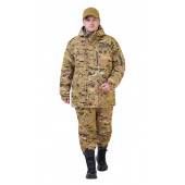 Костюм демисезонный СУМРАК-ВЕСНА/ОСЕНЬ куртка/брюки цвет:, камуфляж Мультикам, ткань : Твил Рип-Стоп
