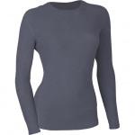 Термобелье жен футболка L/S Arctic флис 100 серая