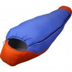 Спальный мешок Fantasy 340 Primaloft синий/оранжевый R 205x80x50