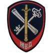 Нашивка на рукав Подразделения обеспечения деятельности органов ВД МВД России тканая