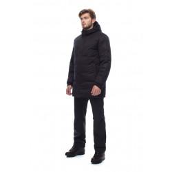 Пальто пуховое мужское BASK ICEBERG черное