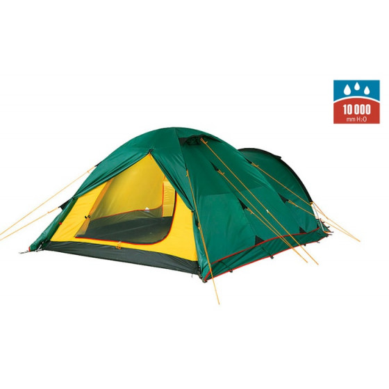 Палатка TOWER 3 Plus Fib green, 9126.3801