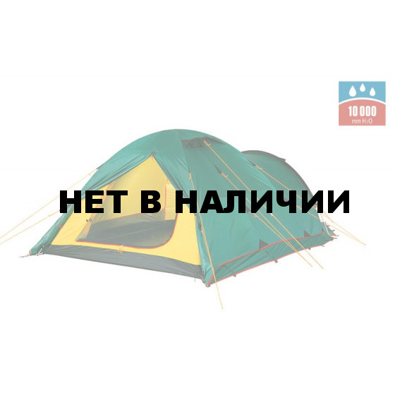 Палатка TOWER 4 Plus Fib green, 9126.4801