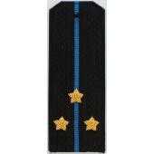 Погоны Авиация ВМФ вышитые Старший лейтенант повседневные трапеция