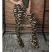 Лосины-брюки милитари