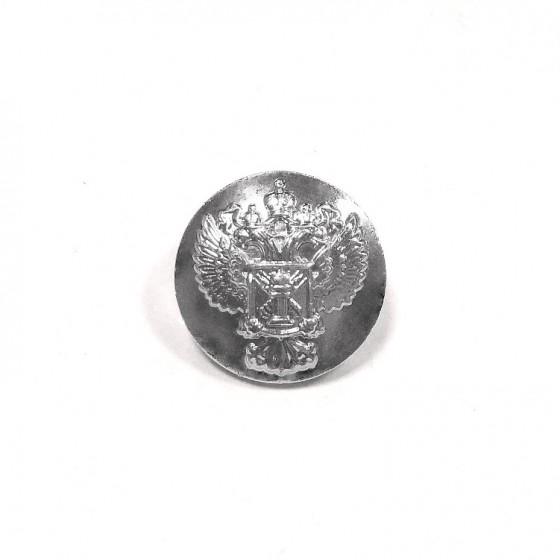 Пуговица диам. 14мм Россельхознадзор металл