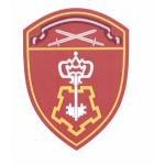 Шеврон Росгвардия Северо-Западный округ Вневедомственная охрана шелк