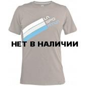 Stripe Logo T-Shirt M Brown, H04BR
