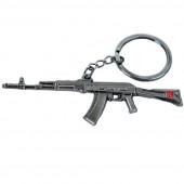 Брелок АК-74 металл
