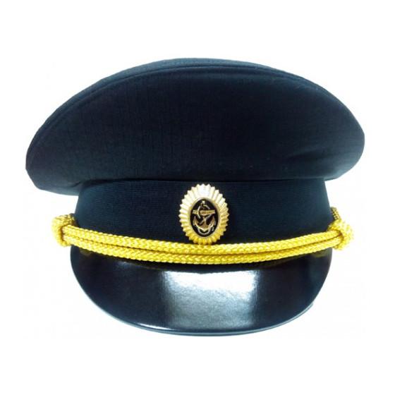 Фуражка МО офисная (ткань рип-стоп, цвет черный)