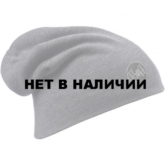 Шапка Buff Heavyweight Merino Wool Hat Solid Grey 111170.937.10.00