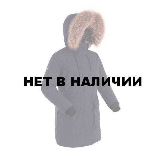 Куртка пуховая женская BASK LYRA темно-синяя