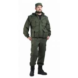 "Костюм мужской ""Gerkon Commando Transform"" олива т.CottonPeach 100% хлопок"